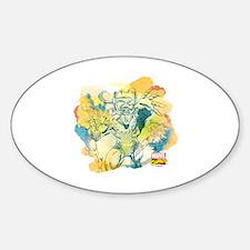 Loki Summerhaze Sticker (Oval)