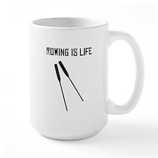 Rowing Is Life Mugs