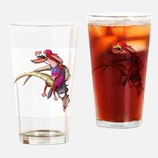Capricorn Dog Drinking Glass