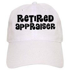 Retired Appraiser Baseball Baseball Cap