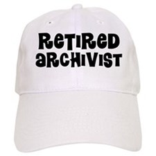 Retired Archivist Baseball Baseball Cap