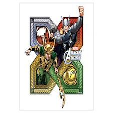 Thor VS Loki Wall Art