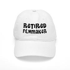 Retired Filmmaker Baseball Baseball Cap