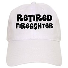 Retired Firefighter Baseball Baseball Cap
