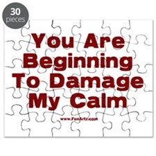 Damage My Calm Puzzle
