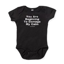 Damage My Calm Baby Bodysuit