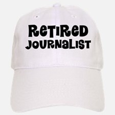 Retired Journalist Baseball Baseball Baseball Cap