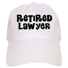 Retired Lawyer Baseball Baseball Cap