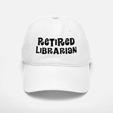 Retired Librarian Baseball Baseball Baseball Cap