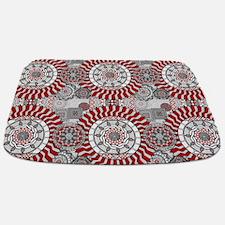Concentric Collage Bathmat