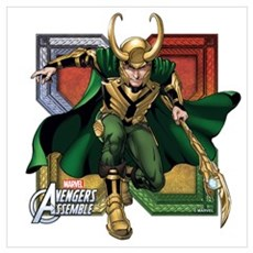 Loki 2 Wall Art Poster