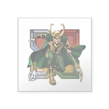"Loki 2 Square Sticker 3"" x 3"""