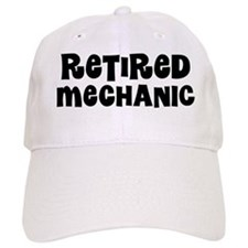 Retired Mechanic Baseball Baseball Cap