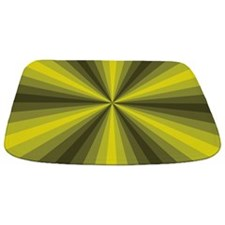 Yellow Illusion Bathmat