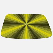 Yellow Illusion Bathmat