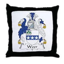 Weer Throw Pillow
