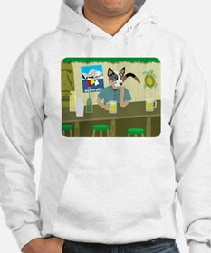 Australian Cattle Dog Tiki Bar Hoodie