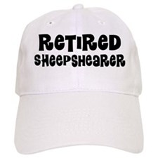 Retired Sheepshearer Baseball Baseball Cap