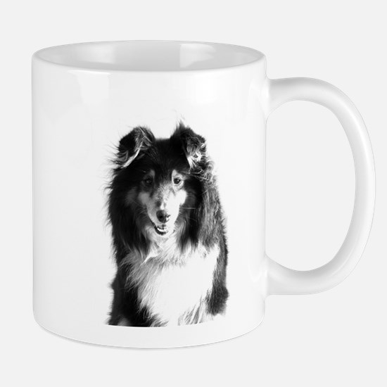 sheltie01bw Mug