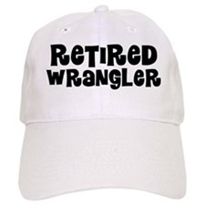 Retired Wrangler Baseball Baseball Cap