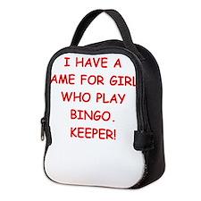 bingo Neoprene Lunch Bag
