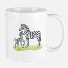 Mommy and Baby Zebra Mug