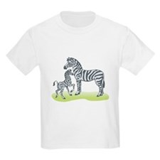 Mommy and Baby Zebra T-Shirt