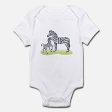 Mommy and Baby Zebra Infant Bodysuit