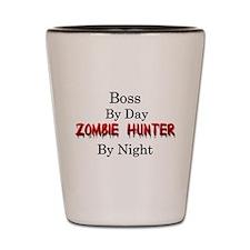 Boss/Zombie Hunter Shot Glass