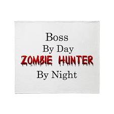 Boss/Zombie Hunter Throw Blanket