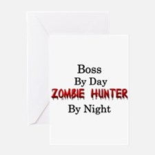 Boss/Zombie Hunter Greeting Card