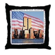 9/11 memorial / Remember Throw Pillow