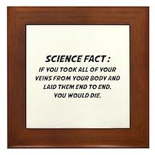 Science Fact Framed Tile