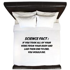 Science Fact King Duvet