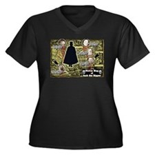 Jack the Ripper Victim Map Original Women's Plus S