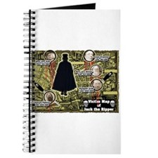 Jack the Ripper Victim Map Original Journal