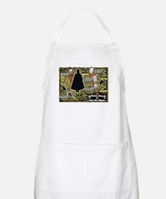 Jack the Ripper Victim Map Original BBQ Apron
