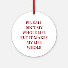 Pinball (round) Round Ornament