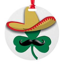 Sombrero Clover Ornament