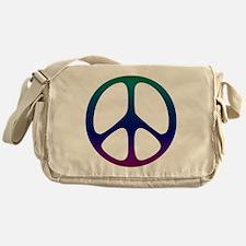 Pastel Rainbow Messenger Bag