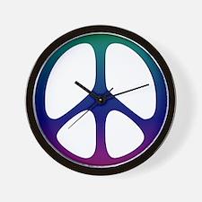 Pastel Rainbow Wall Clock