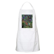 Psychedelic colors melt  Apron