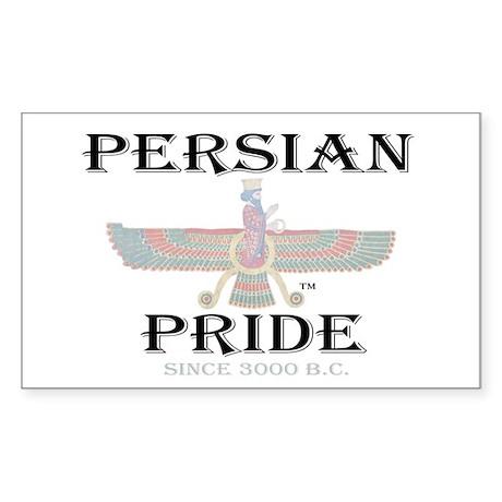 Persian Pride - Ahura Mazda Rectangle Sticker