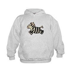 Leaping Baby Zebra Hoodie
