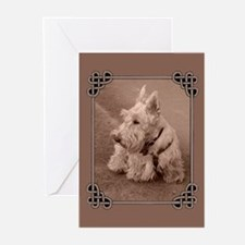 Wheaten Scottie Greeting Cards