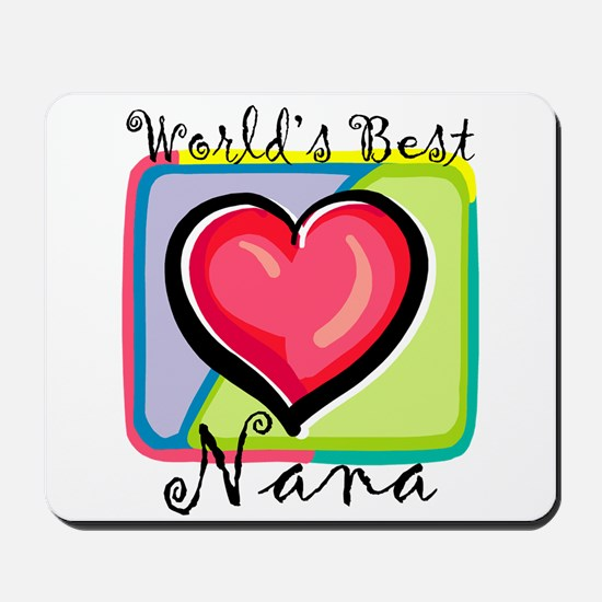 World's Best Nana Mousepad