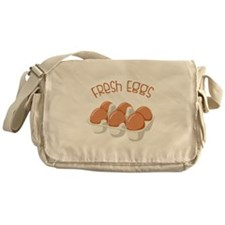 Fresh Eggs Messenger Bag