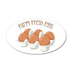 Farm Fresh Eggs Wall Decal