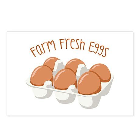 Farm Fresh Eggs Postcards (Package of 8)