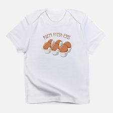 Farm Fresh Eggs Infant T-Shirt